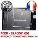 ACER Touchpad Case JM70 Mouse Portable TOUCHPAD 50.4CD05.01 Boutons Acer N4 39.4CD01.003 WIS604CD1700409070602 Cover ASPIRE KeyBoard Frame A04c- PC