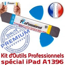 Professionnelle KIT Qualité iSesamo iLAME Remplacement Compatible Tactile A1396 Vitre Outils Réparation PRO iPad Démontage Ecran