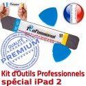 iPad2 iLAME A1395 A1396 A1397 PN Réparation Remplacement Professionnelle Vitre Outils PRO Ecran iPad Qualité 2 Tactile Démontage iSesamo Compatible KIT
