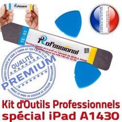 Professionnelle Remplacement PRO iPad Tactile Ecran KIT iLAME Vitre Réparation Compatible Démontage iSesamo A1430 Outils Qualité