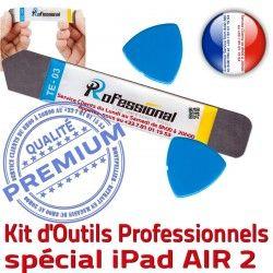 PRO Vitre iLAME iSesamo Tactile A1567 Professionnelle Démontage 2 Outils Remplacement Réparation iPadAIR iPad KIT A1566 Qualité AIR Ecran Compatible