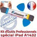 iPadMini iLAME A1432 KIT Réparation iSesamo Outils Ecran Vitre Qualité PRO Remplacement Professionnelle Démontage iPad Tactile Compatible
