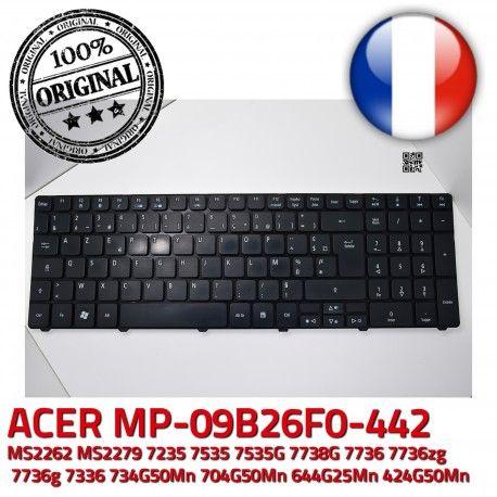 Keyboard MP_09B26F0 AZERTY Chicony KBI170A039930C9D3A2000 Clavier 904CH07C0F9290002EV300 MP-09B26F0-442 904CH07C0F930C9D3A2000 FR ORIGINAL