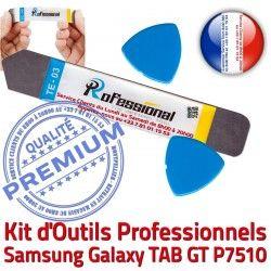 Réparation GT Professionnelle iSesamo Remplacement Qualité Démontage Outils iLAME Galaxy Ecran Vitre TAB Samsung KIT Tactile P7510 Compatible