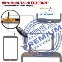 Samsung Galaxy SM-T3100 TAB3 B 8 Prémonté inch Qualité en Coller Verre PREMIUM Blanche à Tactile Supérieure Assemblée Vitre Ecran