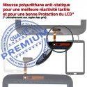 Samsung Galaxy TAB 3 SM-T210 N Prémonté Assemblée T210 Verre LCD TAB3 Tactile Adhésif Vitre en SM Qualité Ecran 7 PREMIUM Noire Supérieure