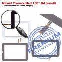 Samsung Galaxy TAB 3 SM-T110 N Tactile Supérieure Assemblée Adhésif Prémonté Ecran 7 Vitre Verre PREMIUM TAB3 SM T110 en LCD Qualité Noire