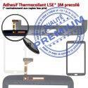 Samsung Galaxy TAB 3 SM-T211 N Noire Verre PREMIUM Qualité Tactile 7 Assemblée Vitre Adhésif Ecran Supérieure en LCD T211 TAB3 Prémonté SM