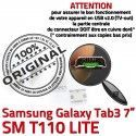 Samsung Galaxy Tab 3 T110 USB 7 à Micro TAB SM Connecteur de Connector Prise Dorés ORIGINAL Dock inch Pins charge Chargeur souder