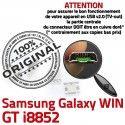 Samsung Galaxy Win i8852 USB Pins GT souder de ORIGINAL Prise à charge Connector Dock Dorés Chargeur Qualité Connecteur Micro