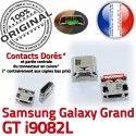 Samsung Galaxy i9082L USB à Connector Micro Prise Dock charge GT Qualité Pins Grand Connecteur souder de Dorés Chargeur ORIGINAL