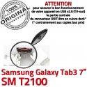 Samsung Galaxy Tab 3 T2100 USB Connector TAB à 7 inch ORIGINAL souder Prise Dorés Chargeur SM de Micro charge Connecteur Dock Pins