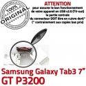 Samsung Galaxy Tab 3 P3200 USB charge Dock Connecteur à GT Pins souder Chargeur Connector Micro Prise de inch TAB ORIGINAL 7 Dorés