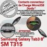 Samsung Galaxy TAB 3 SM-T315 Ch Nappe ORIGINAL Qualité Contacts Connecteur OFFICIELLE Chargeur Charge de MicroUSB TAB3 Réparation Dorés