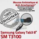 Samsung Galaxy TAB 3 SM-T3100 Ch Dorés TAB3 de Contacts Nappe Réparation MicroUSB Chargeur Qualité Connecteur OFFICIELLE ORIGINAL Charge