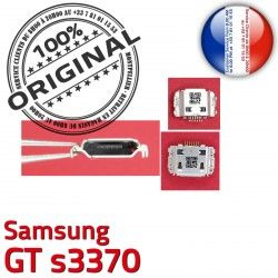 ORIGINAL à charge Dorés souder de Micro GT Portable Dock Flex Connector Connecteur Samsung C Pins USB s3370 Prise Chargeur