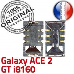 Dorés ACE2 Pins Galaxy SLOT Samsung i8160 Card Lecteur GT S Contacts Connecteur Reader à souder SIM ORIGINAL Connector Carte