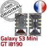 Samsung Galaxy S3 Min GT i8190 S souder Connector à Pins Contacts Connecteur Reader SLOT Card Lecteur Carte Mini SIM Dorés ORIGINAL