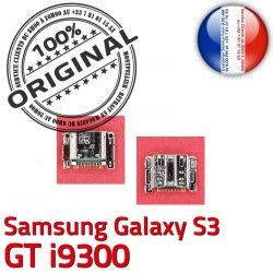 de ORIGINAL Micro souder Connecteur i9300 USB Flex Samsung à Galaxy Dorés Dock Chargeur Pins charge S3 C GT Connector Prise