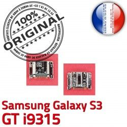Micro i9315 Pins Chargeur Prise Samsung Dorés USB Galaxy Connector de Dock à S3 ORIGINAL C Flex souder Connecteur GT charge