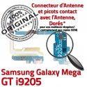 Samsung Galaxy MEGA GT i9205 C Prise Connecteur Microphone Charge Antenne Chargeur Qualité MicroUSB OFFICIELLE ORIGINAL RESEAU Nappe