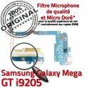 Samsung Galaxy MEGA GT i9205 C Chargeur Connecteur Prise OFFICIELLE Qualité Nappe MicroUSB Charge ORIGINAL RESEAU Microphone Antenne