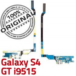 Qualité Samsung Connecteur Nappe RESEAU MicroUSB Chargeur Galaxy S4 Antenne Prise Microphone i9515 GT Charge OFFICIELLE C ORIGINAL