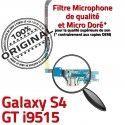 Samsung Galaxy S4 GT i9515 C Nappe Prise Charge RESEAU Microphone ORIGINAL Qualité Antenne OFFICIELLE Chargeur MicroUSB Connecteur