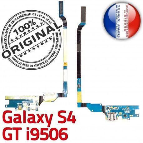 Samsung Galaxy S4 GT i9506 C OFFICIELLE Chargeur Antenne GT-i9506 MicroUSB Qualité Connecteur Prise Nappe ORIGINAL Microphone Charge RESEAU