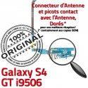 Samsung Galaxy S4 GT i9506 C GT-i9506 Prise RESEAU Antenne OFFICIELLE MicroUSB Chargeur Nappe Qualité Charge Connecteur ORIGINAL Microphone