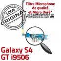 Samsung Galaxy S4 GT i9506 LTEAC Microphone Charge MicroUSB Nappe Qualité Prise Antenne Chargeur OFFICIELLE Connecteur RESEAU ORIGINAL