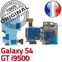 S4 SIM S GT Dorés Lecteur Memoire i9500 Samsung Qualité Carte Nappe Galaxy Connecteur Connector ORIGINAL Micro-SD Reader Contacts