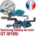 Samsung Galaxy S4 Min GTi9195i C S 4 ORIGINAL Chargeur OFFICIELLE Nappe Antenne Connecteur Qualité MicroUSB i9195i Charge Prise Microphone RESEAU