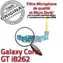 Samsung Galaxy Core GT i8262 C Connecteur Qualité OFFICIELLE Microphone MicroUSB Antenne ORIGINAL RESEAU Chargeur Charge Prise Nappe