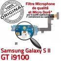 Samsung Galaxy S2 GT i9100 C Connecteur OFFICIELLE Microphone Nappe Qualité ORIGINAL MicroUSB Chargeur RESEAU Antenne Prise Charge