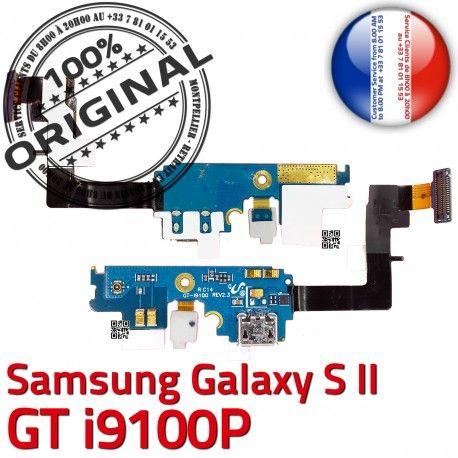Samsung Galaxy S2 GT i9100P C Qualité MicroUSB Antenne Chargeur ORIGINAL Connecteur Nappe Prise Microphone OFFICIELLE RESEAU Charge