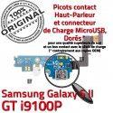 Samsung Galaxy S2 GT i9100P C RESEAU Antenne ORIGINAL Chargeur Qualité Prise Connecteur Microphone MicroUSB OFFICIELLE Charge Nappe