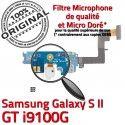 Samsung Galaxy S2 GT i9100G C Chargeur Charge Antenne MicroUSB RESEAU ORIGINAL Prise OFFICIELLE Connecteur Nappe Microphone Qualité