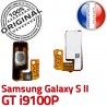 Samsung Galaxy S2 GT i9100P P Marche Circuit souder ORIGINAL OR Switch Connector Bouton Nappe Dorés S à Contacts 2 Arrêt Pin Connecteur SLOT