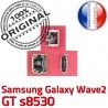 Samsung Galaxy Wave2 GT s8530 C ORIGINAL USB Flex à Pins Chargeur Connecteur souder Dorés de Connector Dock Micro charge Prise