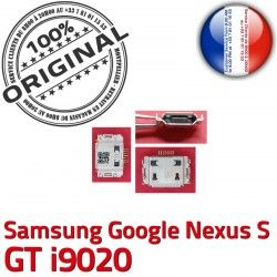Nexus ORIGINAL Google Connecteur i9020 GT de Flex Chargeur Connector Micro souder Dorés Samsung Dock S C à charge USB Pins Prise