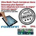 iPad2 Apple A1395 A1396 A1397 P4 épais Bouton Version plus Verre Originale Adhésif iPad Oléophobe Ecrans Vitres Home en Multi-Touch 4 Tactiles Prémontés 2