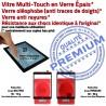 Samsung Galaxy TAB-A SM T550 N Assemblé Qualité Verre PREMIUM Noire Tactile Vitre SM-T550 Noir Supérieure Ecran 9.7 Adhésif Assemblée