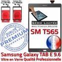 Samsung Galaxy TAB-E SM T565 G Limitée Qualité Grise Série Adhésif SM-T565 Vitre Verre Gris Tactile Titanium Ecran PREMIUM Assemblée 9.6