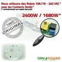 Relais Automatique SINOPower Mouvements Capteur LED Micro-Ondes Éclairage Énergie Radar Luminaire Économie Ampoules Micro Détection 360°