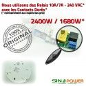 Hyper Fréquence SINOPower Automatique Relais Énergie 360° Ampoules Luminaire Mouvement Éclairage LED Détection Radar Micro-Ondes de Économie Micro Capteur